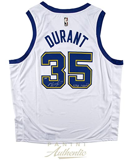 classic fit ba5ff a156b Amazon.com: KEVIN DURANT Autographed Golden State Warriors ...
