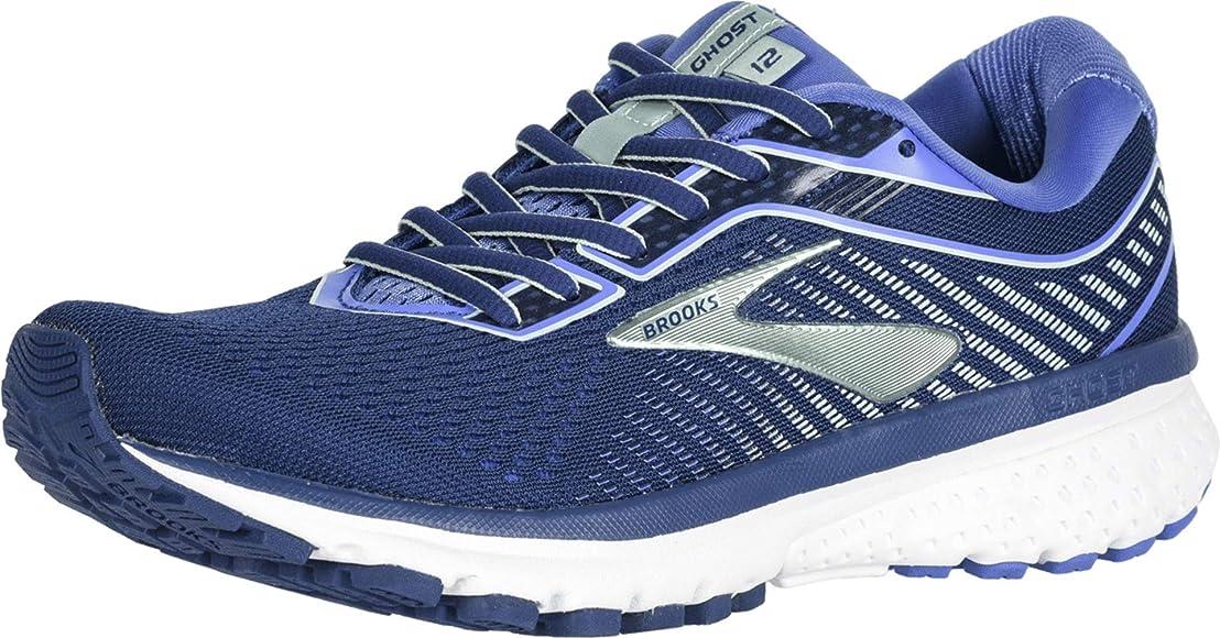 Brooks Ghost 12, Zapatillas de Running para Mujer, Azul Peacoat Blue Aqua 413, 35.5 EU: Amazon.es: Zapatos y complementos