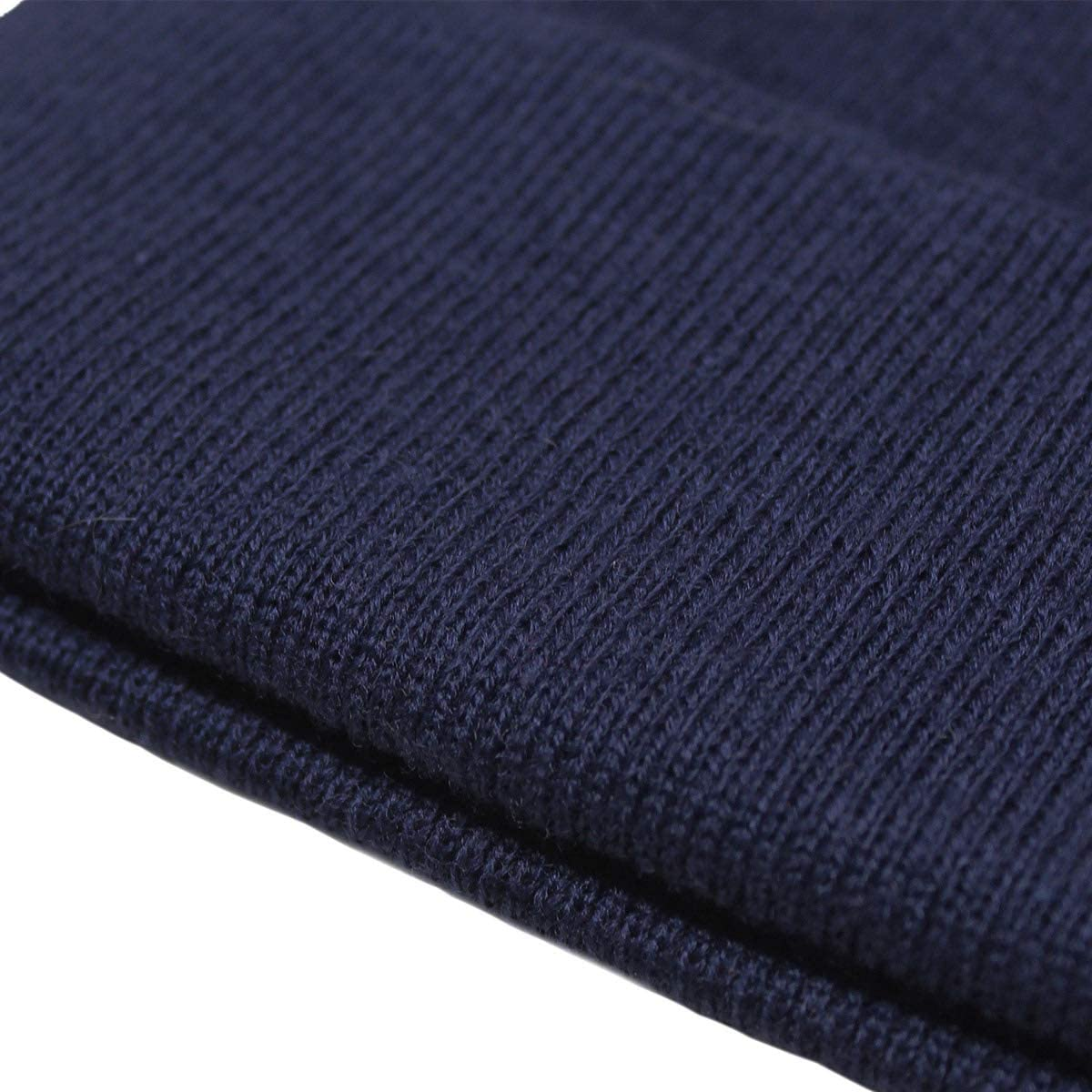 Unisex Knitted Beanie Cap Windpoof Soft Winter Hats Casual Skully Hats