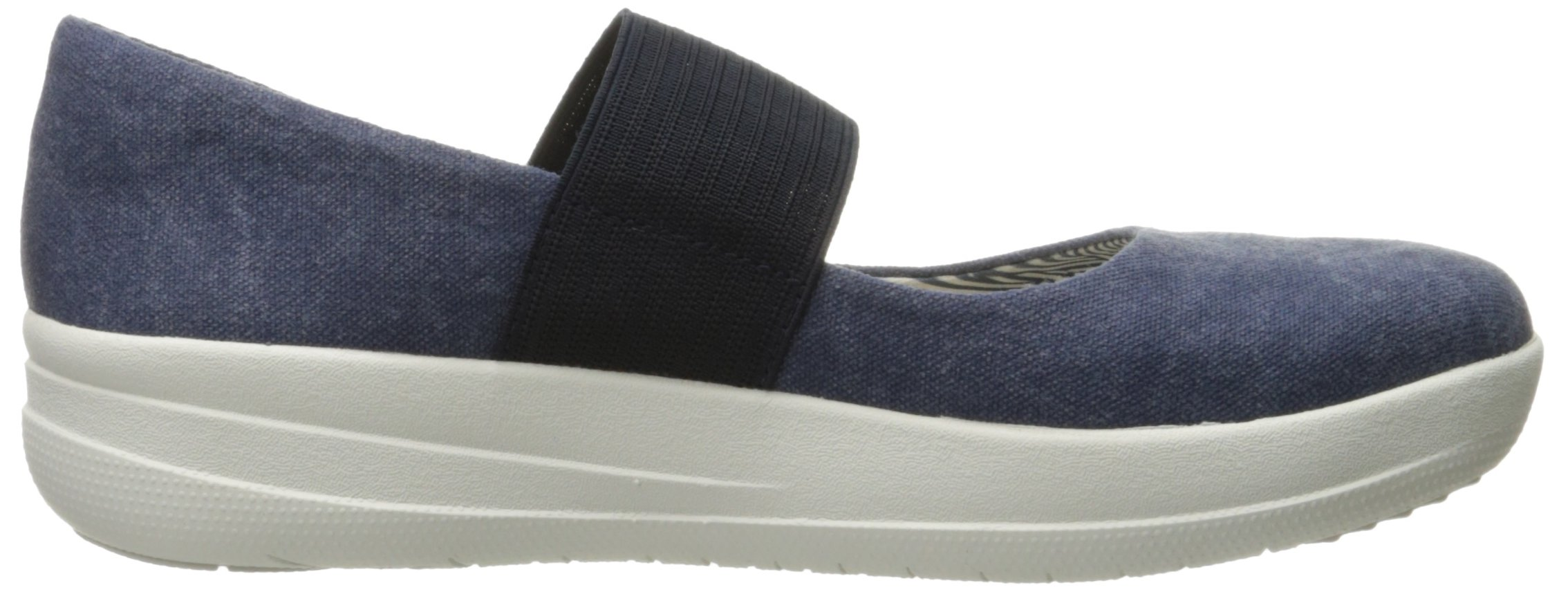 FitFlop Women's F-Sporty Mary Jane Flat, Midnight Navy, 6.5 M US by FitFlop (Image #7)