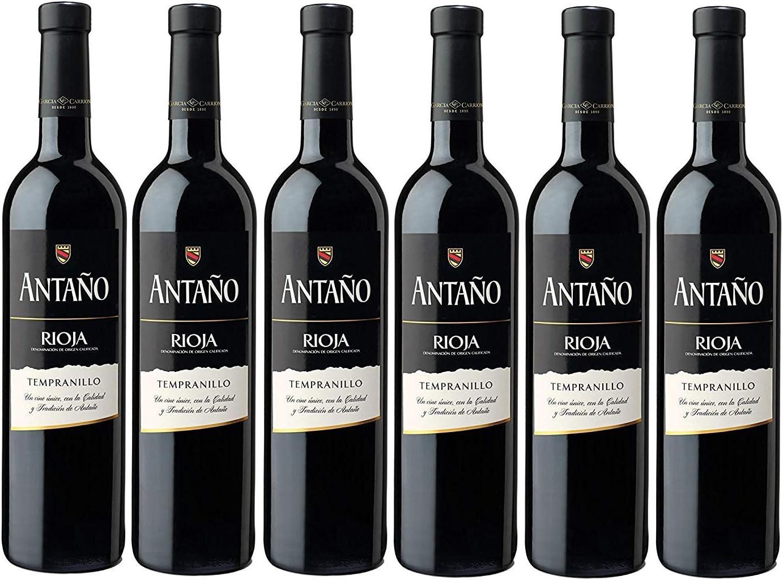 Don Simon Antaño Tempranillo Vino Tinto D.O Rioja - Pack de 6 ...