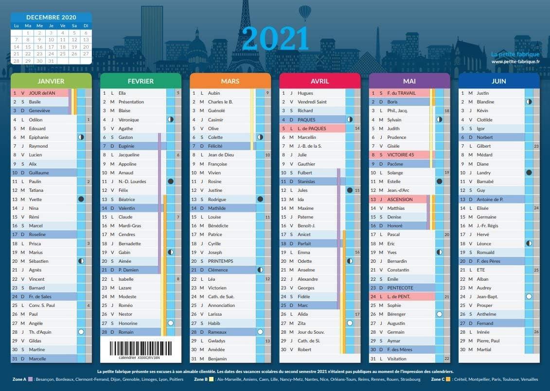 Calendrier 2021   format A4   Papier épais.: Amazon.fr