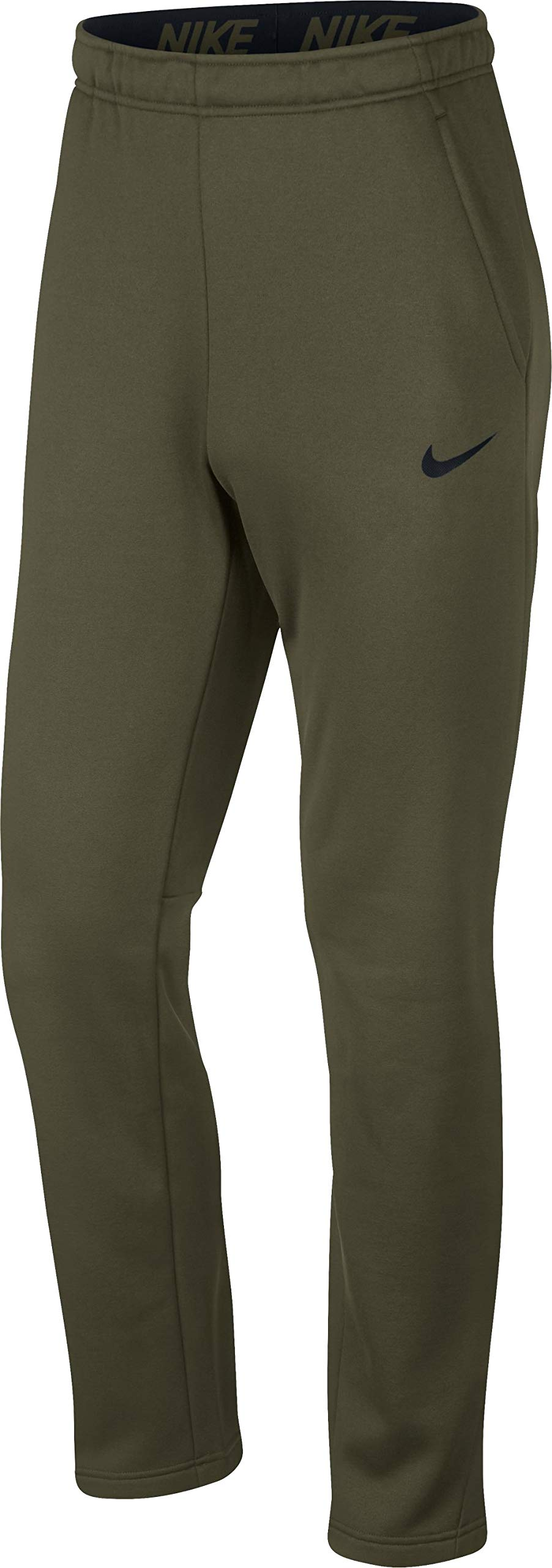 Nike Men's Therma Training Pants, Olive Canvas/Black, Small