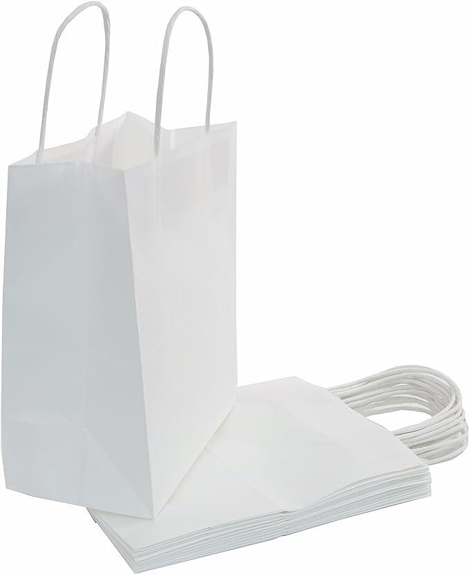 FARMHOUSE FAVORITES Print on WHITE Kraft Gift Paper Sack Bags Choose Size /& Package Amount