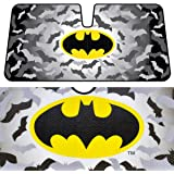 BDK WBAS-1301 Batman Sunshade for Car - Original Batman Desing Windshield Sun Block by Warner Brothers
