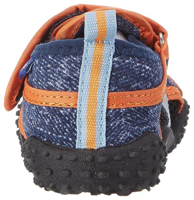 Playshoes Badeschuhe AHOI mit UV-Schutz, Scarpe da Immersione Unisex Bambini, Blu (Jeansblau 3), 26/27 EU