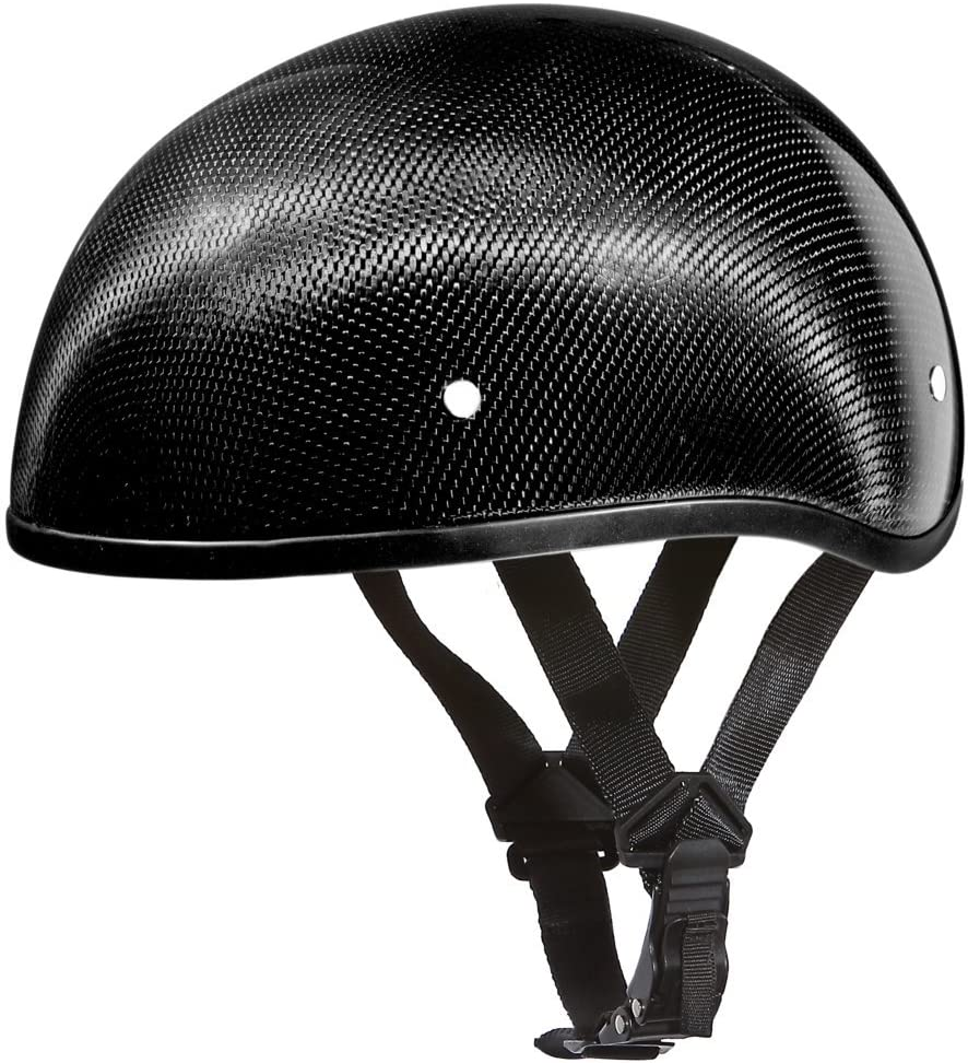 Daytona Half Helmet Skull Cap