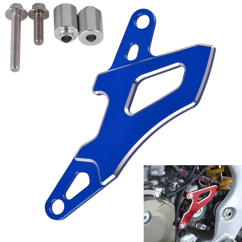 H2RACING alluminio CNC moto pignone anteriore di guardia per WR250R WR250 x 2007 –  2015 2016 2017