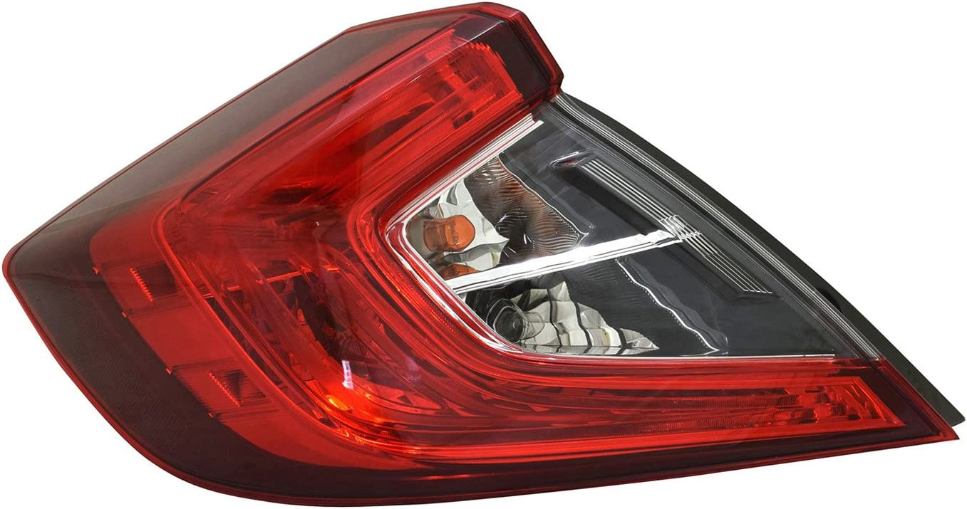 Tail Light Assembly Multiple Manufactures HO2804110OE Standard No variation