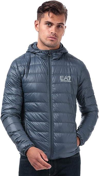 Emporio Armani Ea7 - Chaqueta de plumón para hombre, color gris: Emporio Armani EA7: Amazon.es: Ropa y accesorios