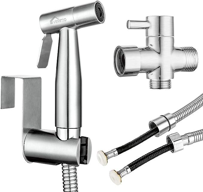 Pissente Pulv/érisateur de Jet de Douche Multifonction Bidet Spray de Toilette Hygi/ène pour Maison H/ôtel Salle de Bain