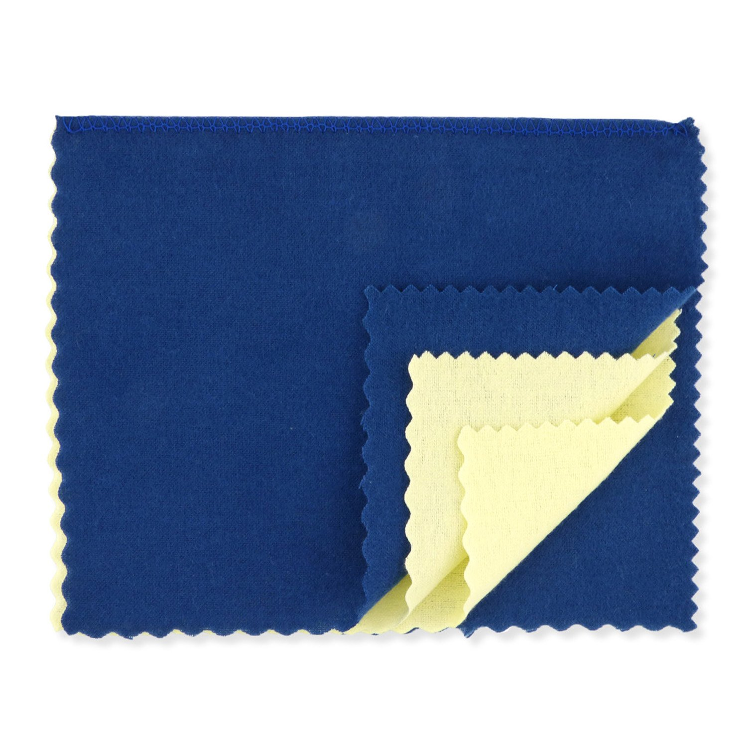 Jewelry Cleaning and Polishing Cloth for Gold, Silver, Platinum, Brass Metals 12'' x 7.5''