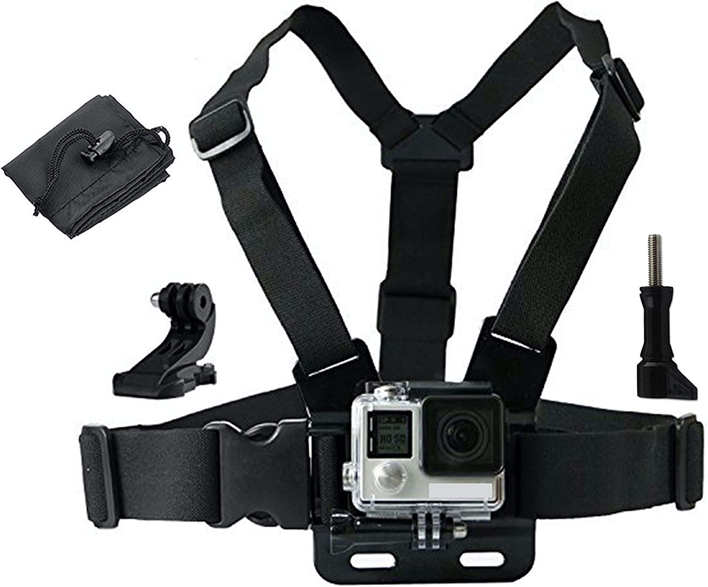 LONDON FAB Arneses para cámaras de acción, compatibles con GoPro y Todas Las cámaras de acción.