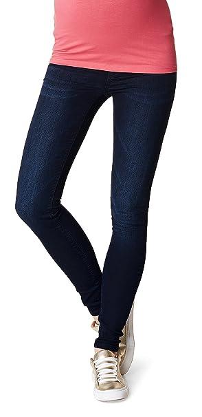 Noppies Jeans OTB Jegging, Vaqueros Premamá para Mujer, Azul (Midnight Blue C329), W33