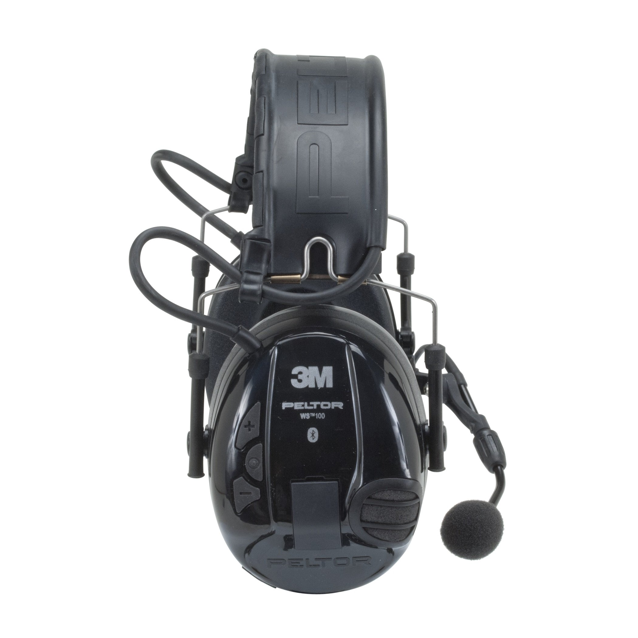 3M Peltor WS 100 Communications Headset MT16H21FWS5UM580, 20 dB Noise Reduction, Black