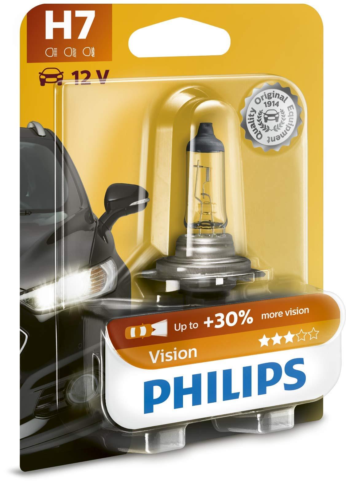 Philips 12972 PRB1 Premium - Bombilla H7 (1 unidad, 30% más de potencia