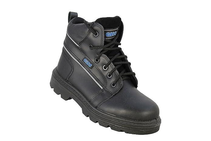 giss Trucker Wrangel SA S3?Src Zapatos de trabajo Trabajo Guantes Alto Negro, negro, 47