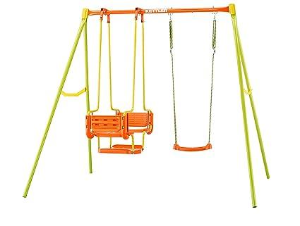 Kettler 0S01053-0010 Schaukel 3, Orange, Gelb, Grün