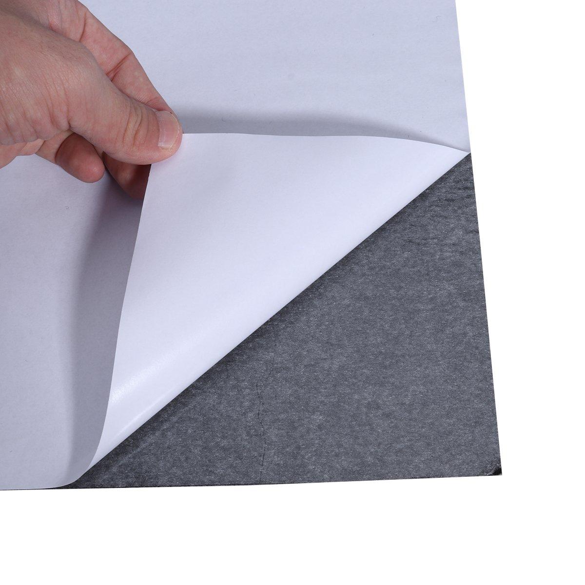 ROSENICE 10 Bl/ätter Filzplatten selbstklebend Filzgleiter Mehrzweck Bastelfilz f/ür Kunst und Handwerk machen schwarz
