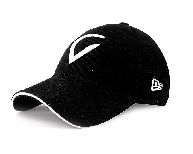 2e4de2e4d676 SHVAS Unisex Virat Kohli Logo Theme Baseball Cap (Black