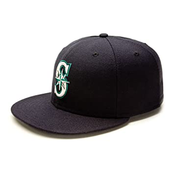 708031a18ef Seattle Mariners MLB Authentic Collection On Field Game 59FIFTY Cap Size 7  1 4  Amazon.ca  Sports   Outdoors