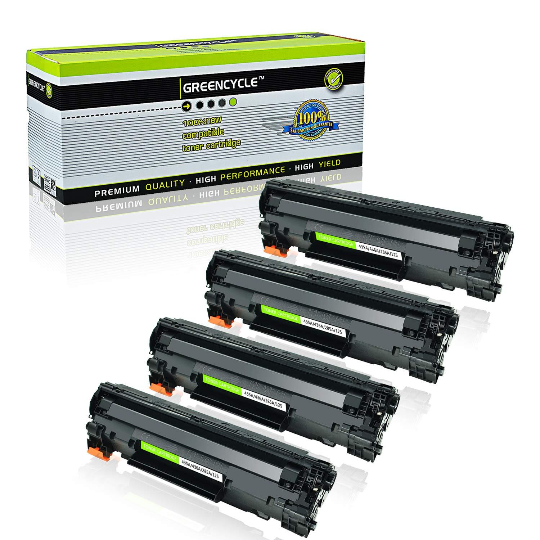 Toner Alternativo ( X4 ) Alta Capacidad Negro 35A CB435A P1002 P1003 P1004 P1005 P1006 P1007 P1009