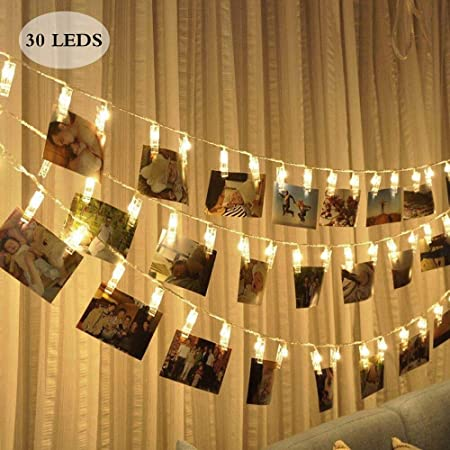 Luces Decorativas Claro Bombillas Globo LED Solar Cadena Fairy Exterior Impermeable