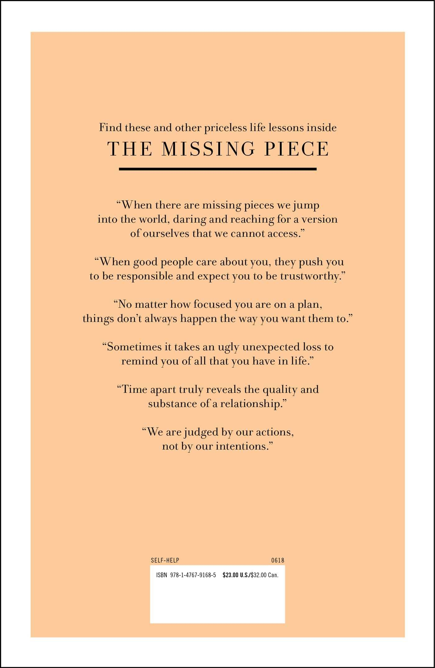 The Missing Piece: Finding the Better Part of Me: A Love ...