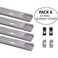 Led Atomant Pack 4 x 1 perfil
