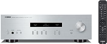 Yamaha A-S201 - Amplificador Hi-Fi estéreo de 100 W, plateado