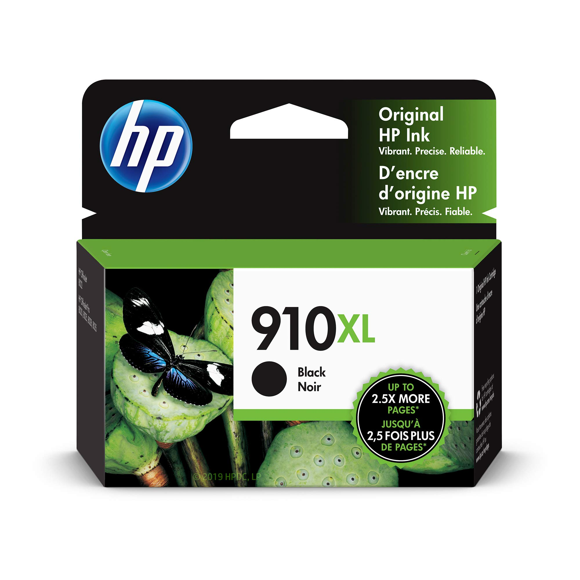 HP 910XL Black Original Ink Cartridge (3YL65AN)