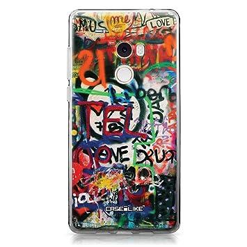 CASEiLIKE® Funda Mi Mix 2, Carcasa Xiaomi Mi Mix 2, Graffiti 2721, TPU Gel Silicone Protectora Cover