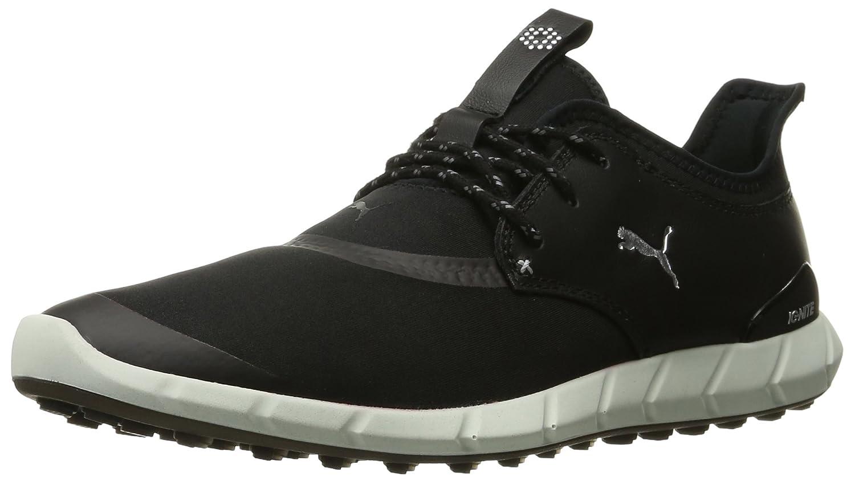 PUMA Men's Ignite Spikeless Sport Golf Shoe B01AX12NNC 11.5 D(M) US|Puma Black-puma Silver