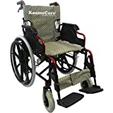 KosmoCare Elegant Plus Premium Foldable Aluminium Wheelchair