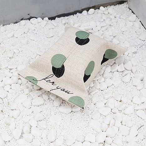 Nordic Minimalista Moderna Toalla de Papel de Seda de Dibujos Animados Tissue Creativo Caja de Pañuelos