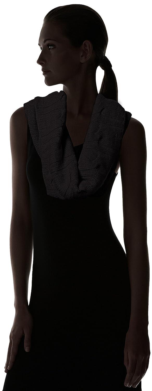 Sofia Cashmere Womens 100 Percent Cashmere Cable Snood Black One Sofia Cashmere Women/'s Accessories AC528-A