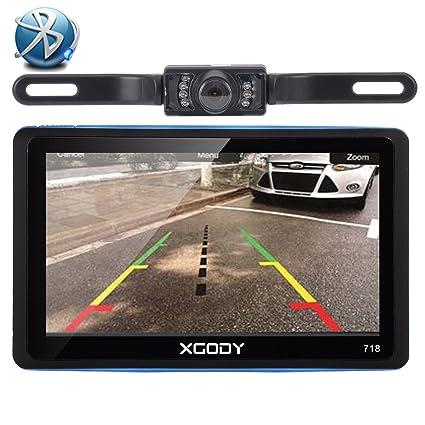 XGODY 718bt 7 Inch 8 GB LCD TFT pantalla táctil capacitiva GPS coche navegación GPS con