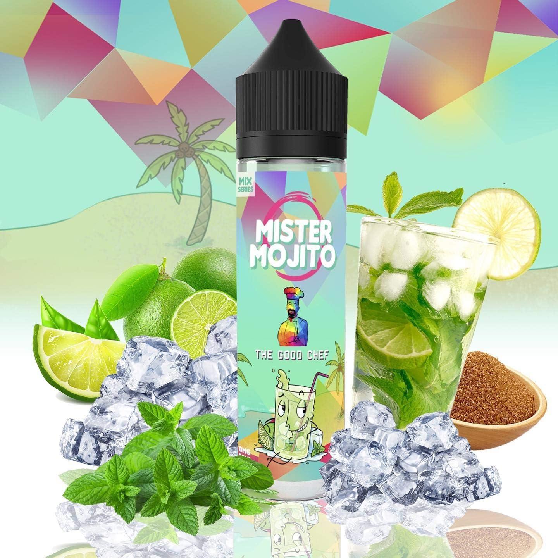 ELIQUID MISTER MOJITO | 50ML TPD | THE GOOD CHEF ELIQUIDS| Sin Nicotina: 0MG | E-Liquido para Cigarrillos Electronicos - E Liquidos para Vaper 70/30