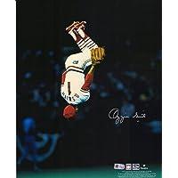 """$89 » Ozzie Smith St. Louis Cardinals Autographed 11"""" x 14"""" Vertical Flip Photograph - Autographed MLB Photos"""