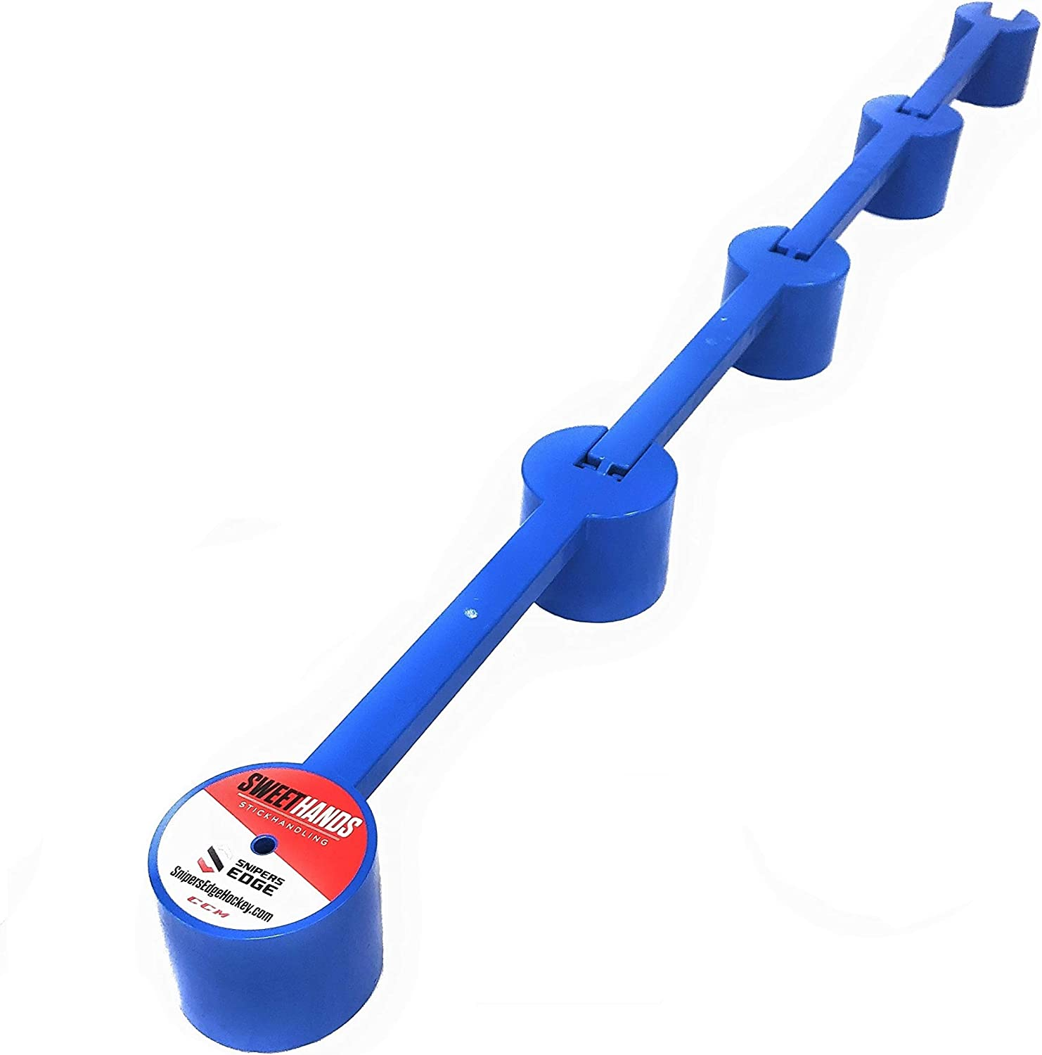 Sniper's Edge Hockey Hands Mini Stickhandling Trainer with 4 Sections : Hockey Training Aids : Sports & Outdoors