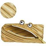ZIPIT Monster 3 环铅笔盒 铅笔盒 8.66 * 0.78 * 3.94 inch (L*W*H) 金色