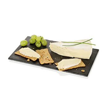 Boska Explore Collection Tabla de Queso de Pizarra Light M, Tabla de Cortar, Queso