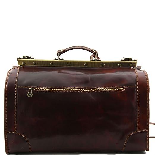 Tuscany Leather - Madrid - Sac de voyage en cuir - Grand modèle Rouge - TL1022/4 4cCkccizT