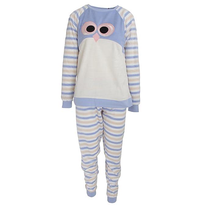 Foxbury - Pijama con diseño Animal para Mujer (36/38/Búho)