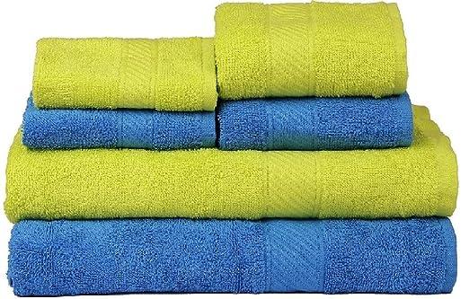 3 opinioni per Trident Combo Set di 6 asciugamani da
