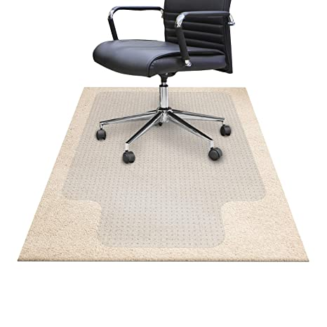 Amazon.com: Tapetes para sillas para suelos de moqueta ...