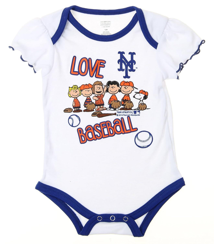 innovative design afb92 c9eef Amazon.com: Outerstuff MLB New York Mets Baby Girls Infants ...