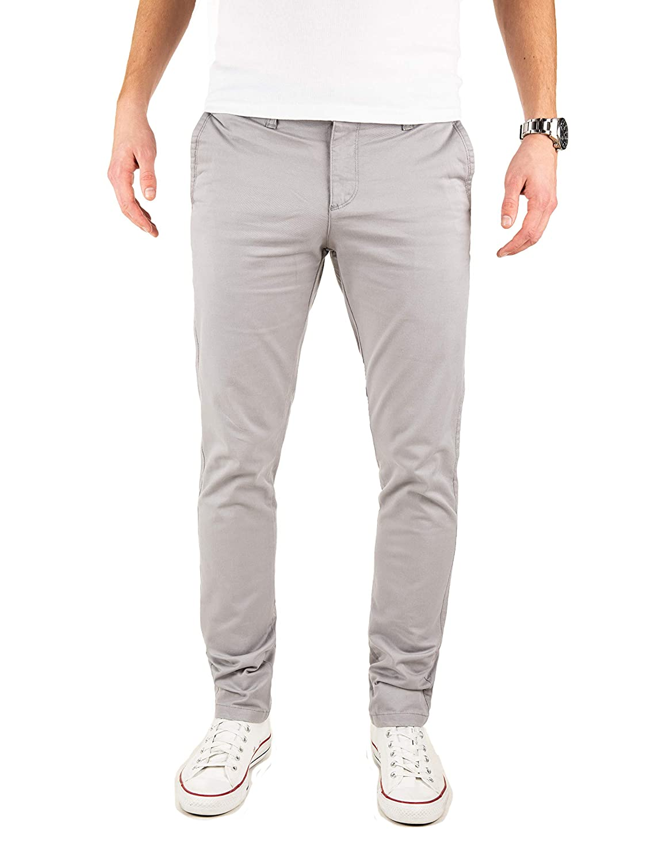 TALLA 29W / 32L. Yazubi Chinos Pantalones Slim Fit - Dustin - para Hombre