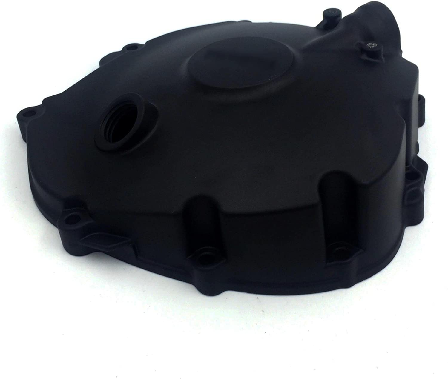 Motorcycle Black Right Side Clutch Engine Cover Replacement Logo Compatible with 2009-2014 Yamaha YZF-R1 HTTMT MT313-036B Aftermarket can replace P//N 14B-15421-00-00