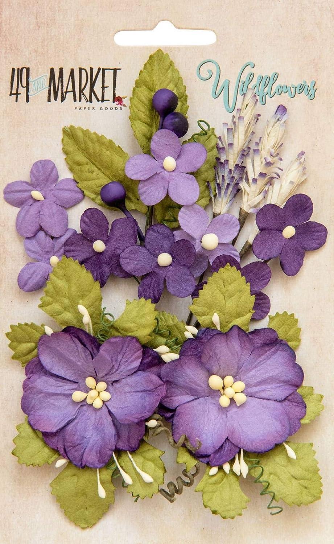 Violeta Paquete de 8 Flores Silvestres 49 y Mercado